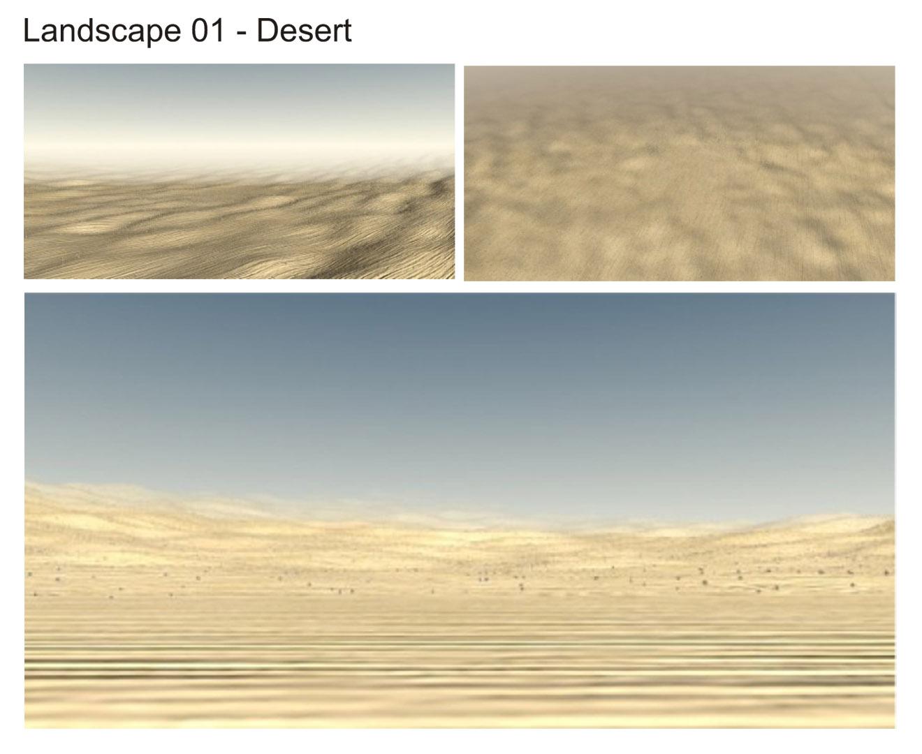 Free Premium Download 3d model Landscape Dessert! uapik gan… » free ...