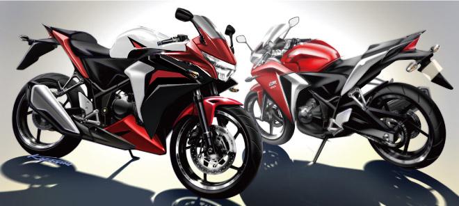 Desain Cutting Sticker untuk CBR 250 R 2012 warna apa saja… Mantap ...