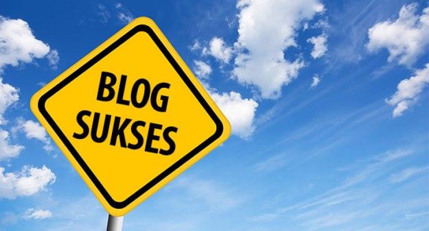 sukses menjadi blogger